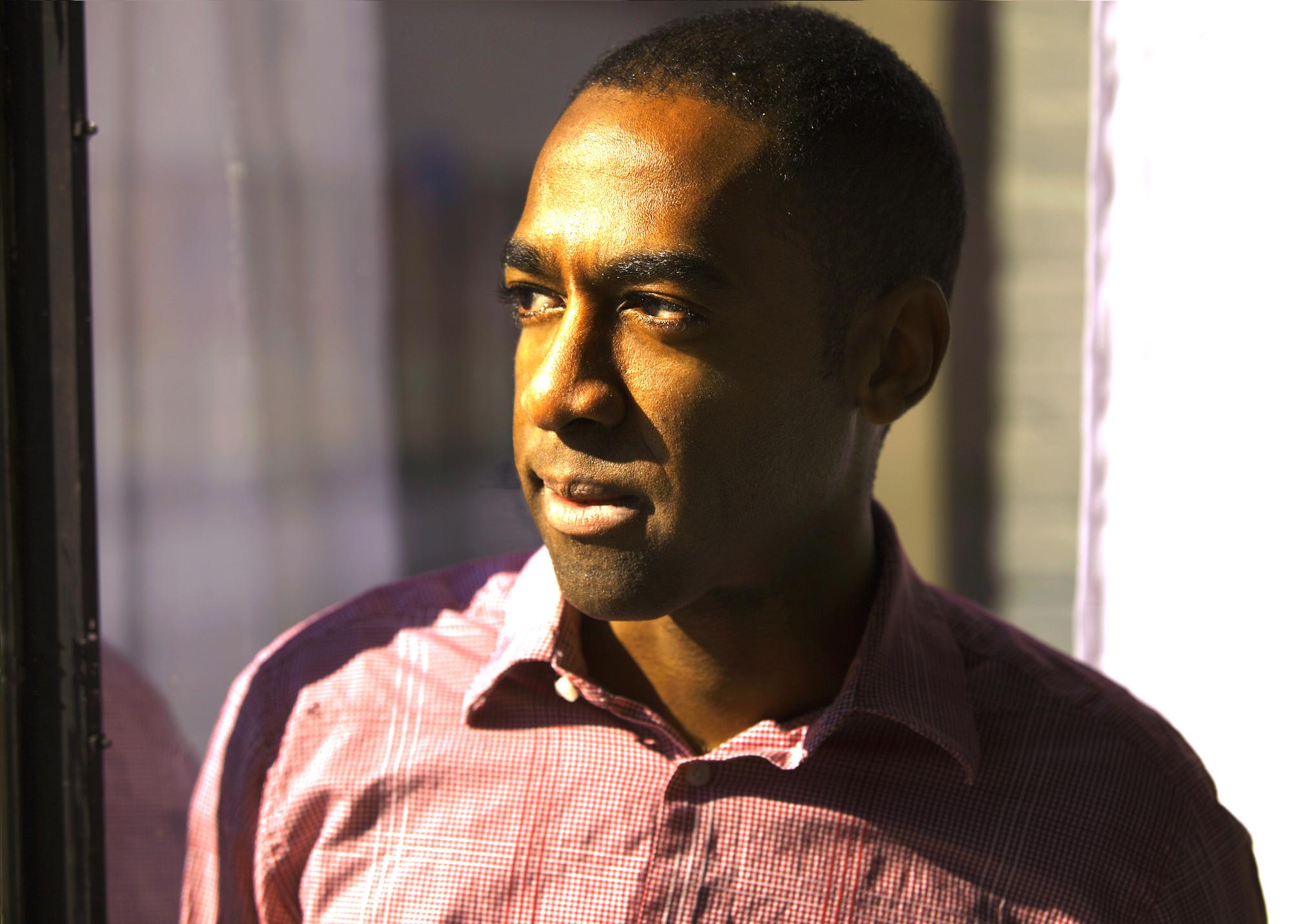 Photograph of author Ian Williams